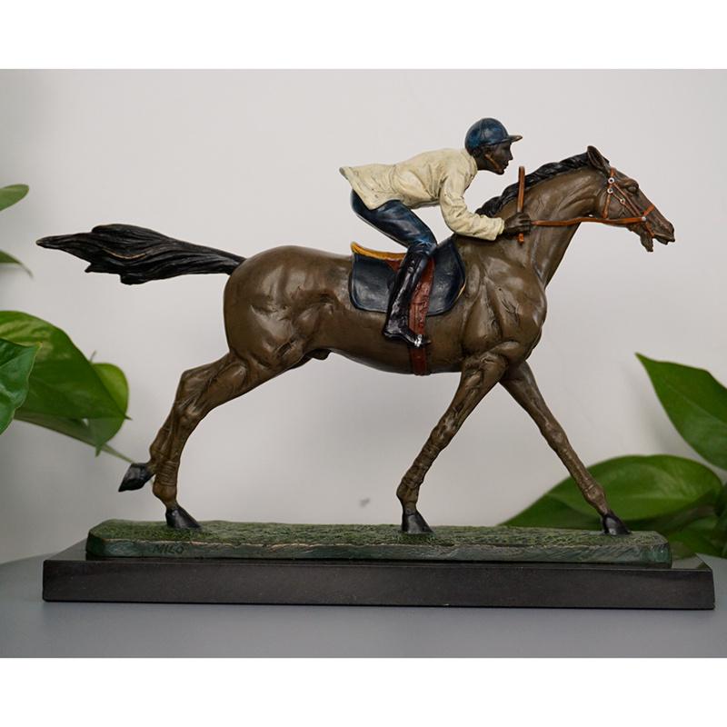 Garden Decoration Art Bronze Horse Sculpture Animal Bronze Statue