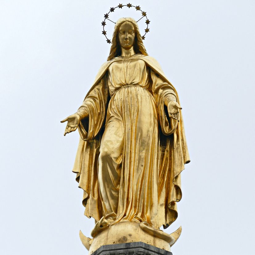Bronze life size mary statues for sale