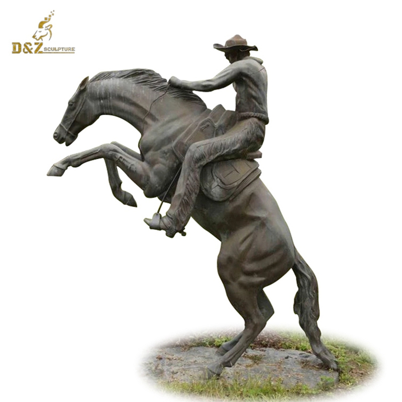 high quality outdoor large fighting bronze bear sculpture