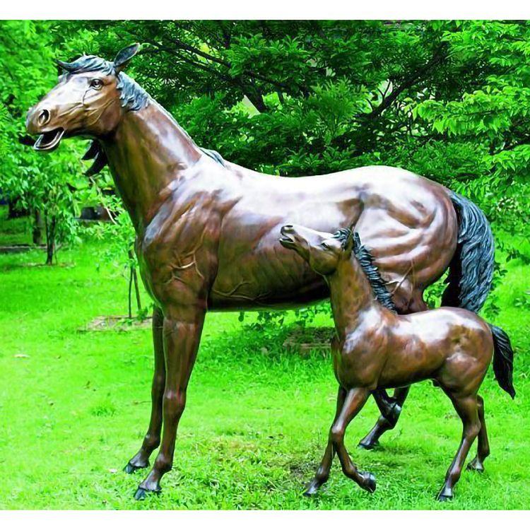 Large Bronze Statue Horse Sculptures