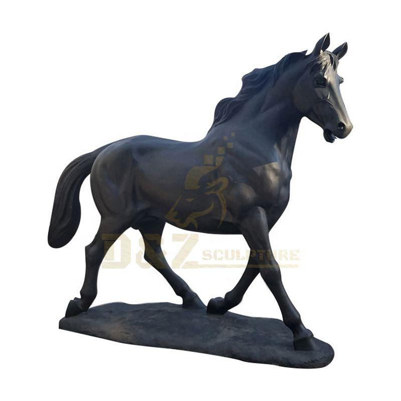 Outdoor Sculpture Bronze Standing Horse Statue