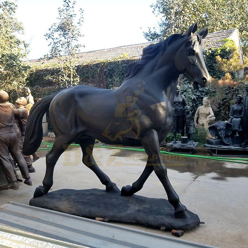 Hot sale outdoor huge bronze sculpture horse statue