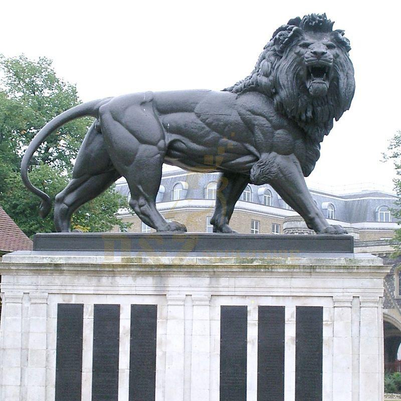 Factory Customized Large Lion Bronze Sculpture
