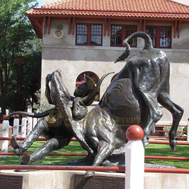 Outdoor Decoration Bronze Bull Sculpture