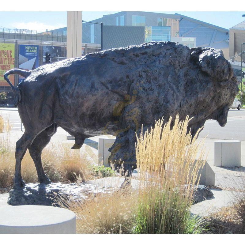 Garden Decoration Bronze Animal Sculpture Bull Statue