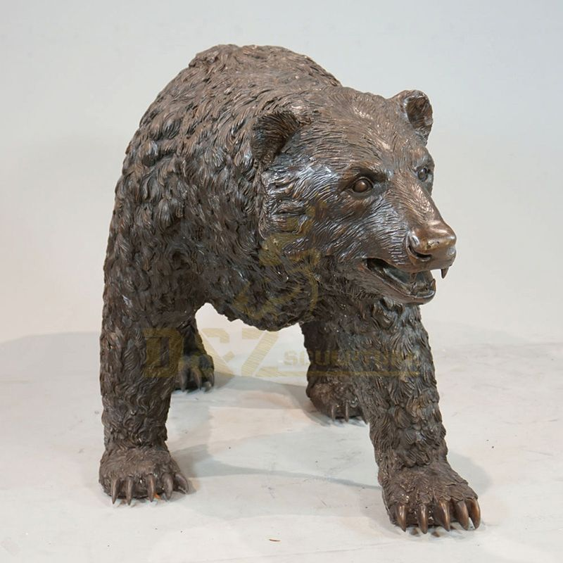 Hot Selling Bear Bronze Animal Sculpture