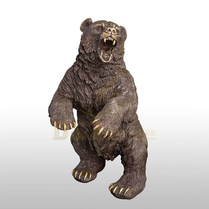 New Design bronze bear large animal sculpture