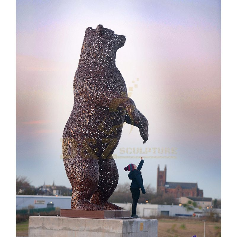 Life Size Bears Bronze Animal Sculpture