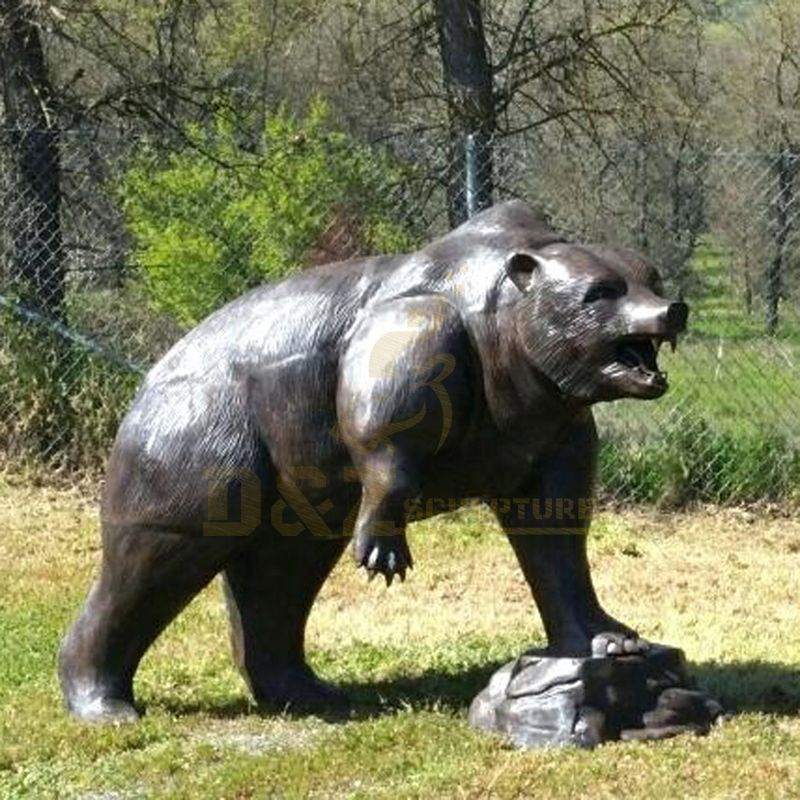Large Bronze Bear Statue Outdoor Sculptures
