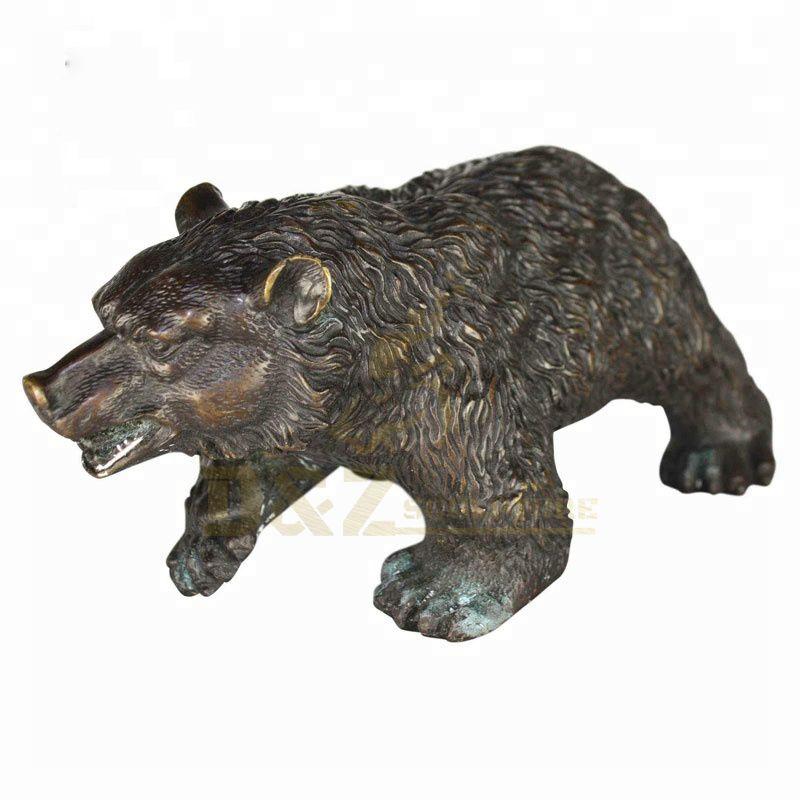 Large Bronze Bear Statue Outdoor Sculptures