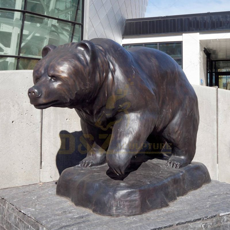 Wholesale Bronze Sculpture Bear For Sale