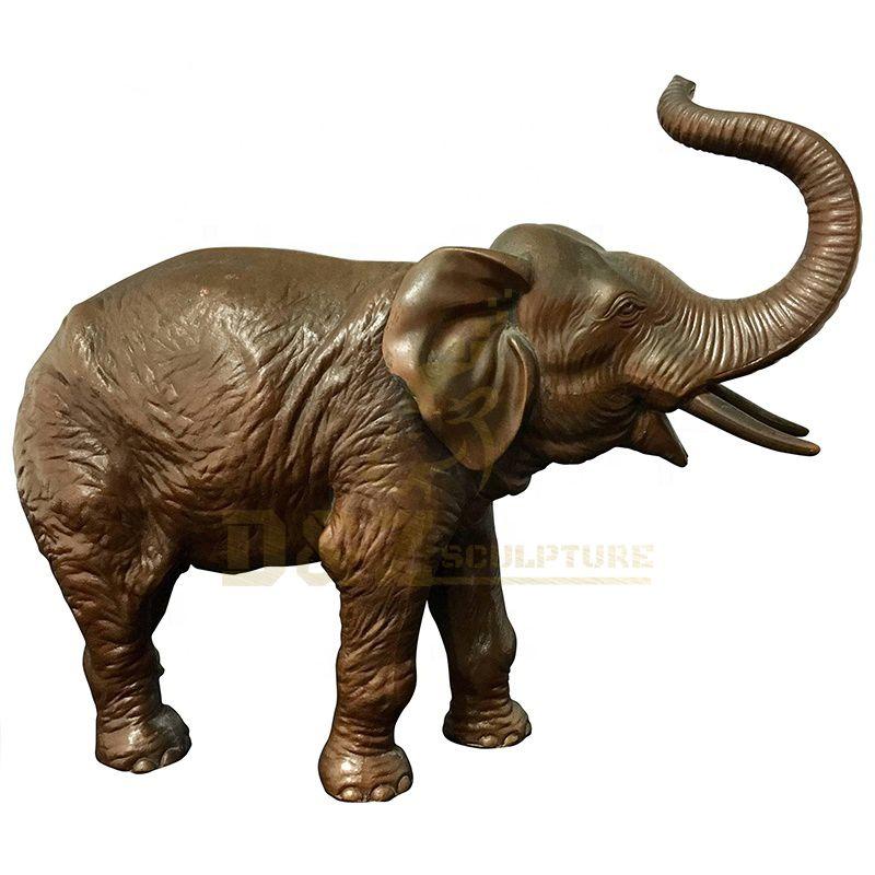 Garden Decoration Bronze Life Size Elephant Sculpture