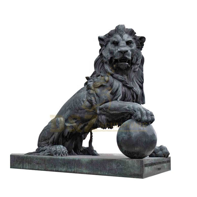 Outdoor High Quality Bronze Lion Sculpture