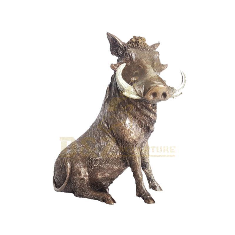 Large Bronze Garden Wild Boar Sculpture