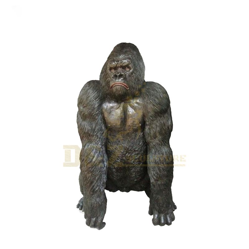 Hot Sale Garden Decor Bronze Sculpture Gorilla
