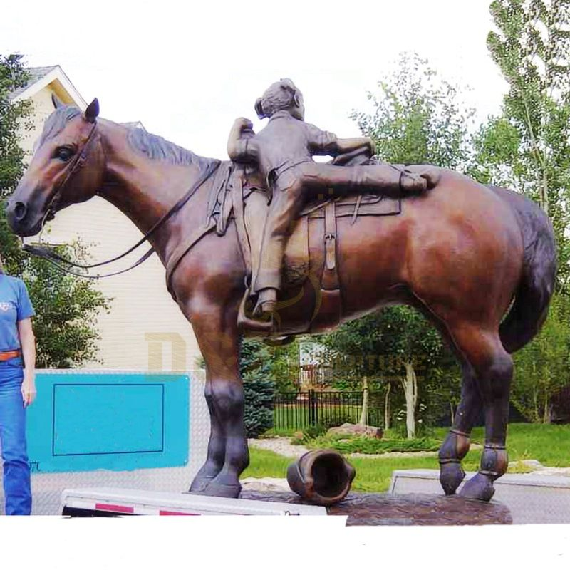 Life Size Bronze Horse Statue brass horse sculpture for Sale