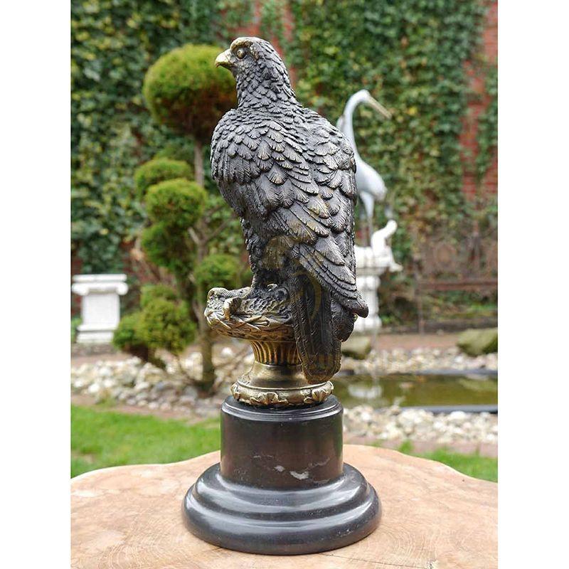 Customized Animal Sculpture Large Bronze Eagle Statue