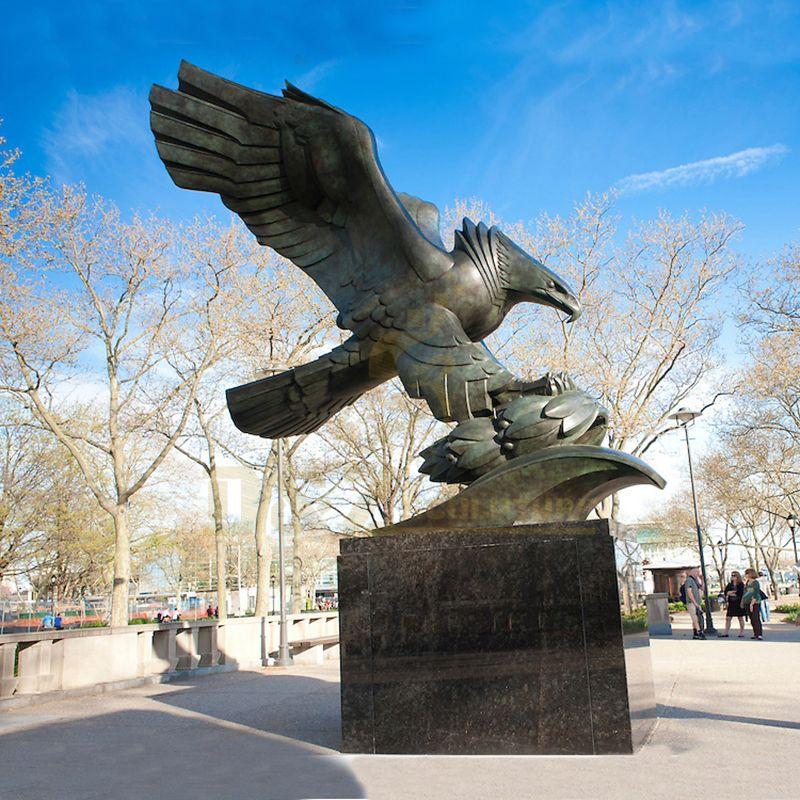 Wholesale Custom Copper Sculpture Eagle For Sale