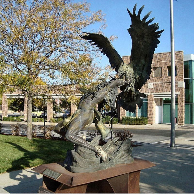 Hot Selling Outdoor Large Bronze Eagle Sculpture