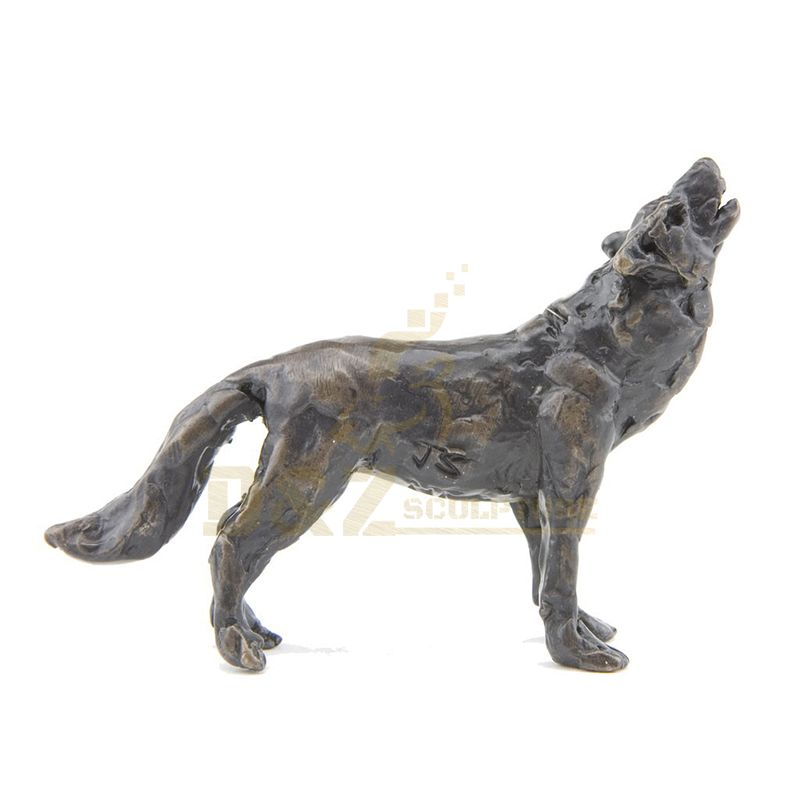Hot Sales Large Outdoor Life Size Wolf Sculpture