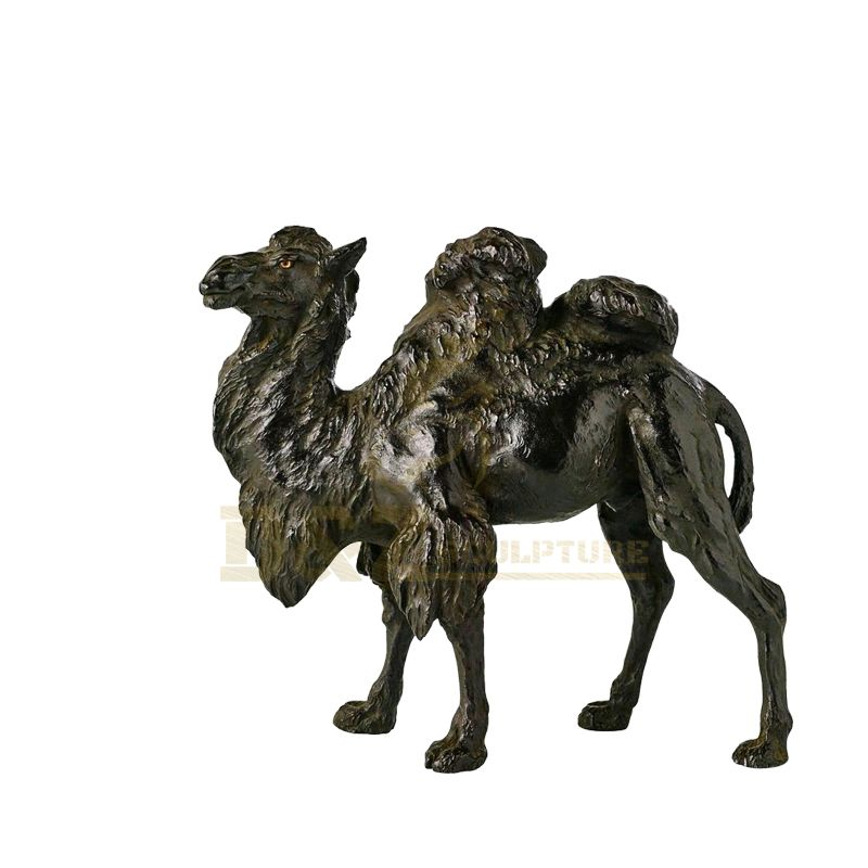 Life Size Bronze Camel Sculpture Bronze Animal Sculpture