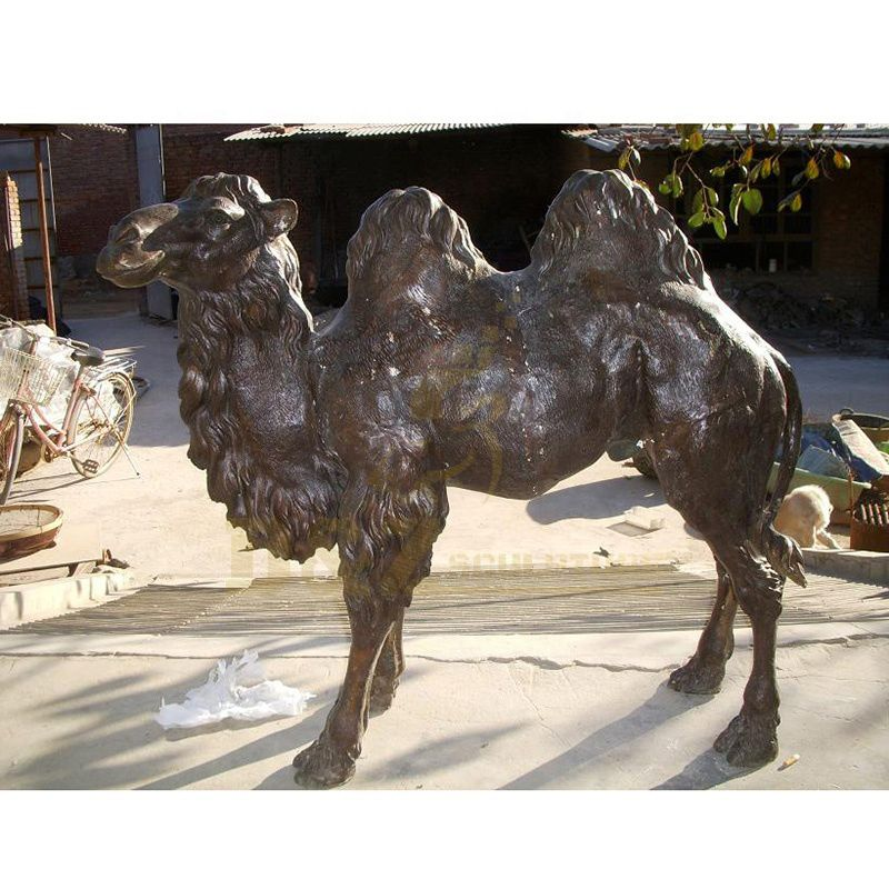 Large Size Animal Garden Bronze Camel Sculpture