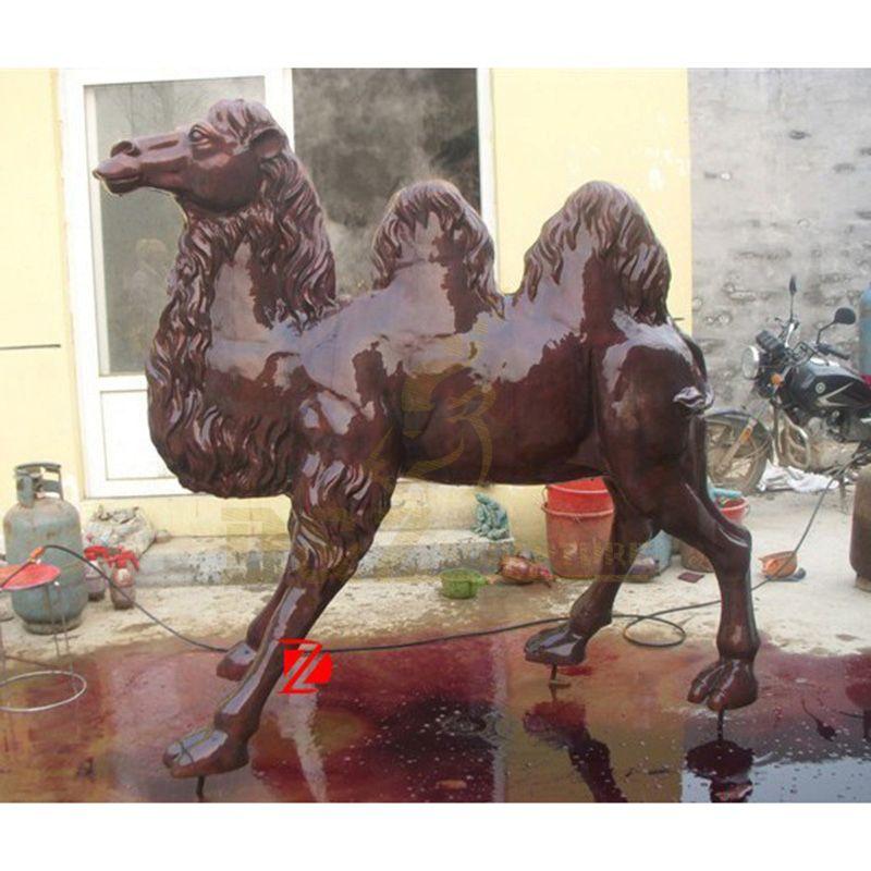 High Quality Famous Antique Bronze Camel Statue