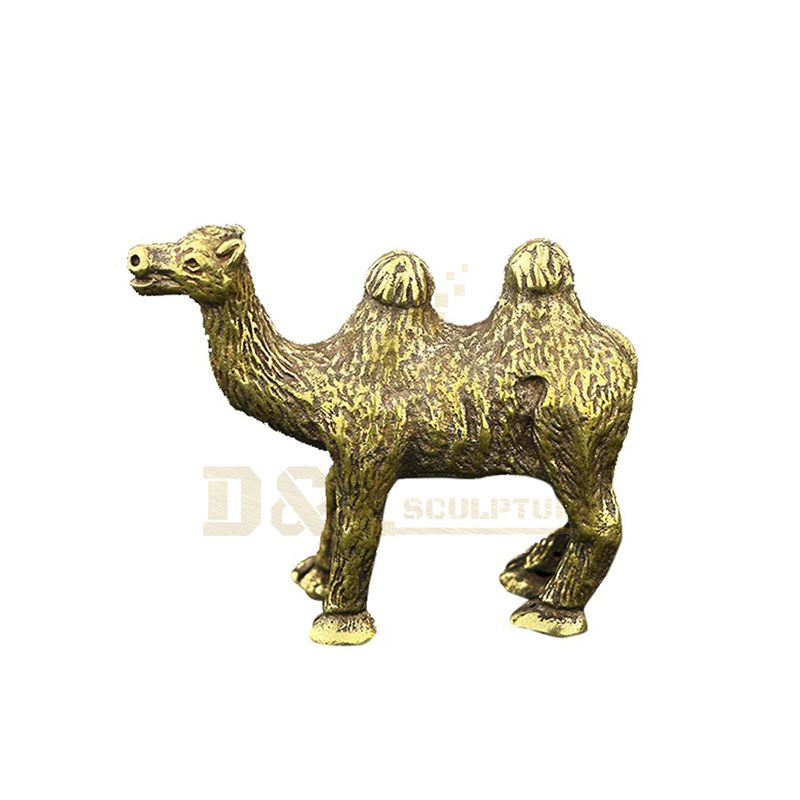 Animal statue outdoor large park decoration modern bronze camel statue