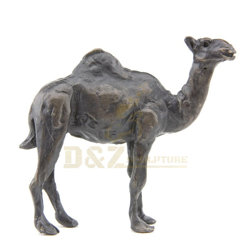 Large Size Bronze Camel Metal Sculpture