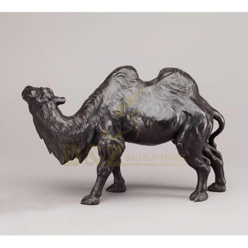 Hot Sale Garden Decor Outdoor Cast bronze Camel Sculpture