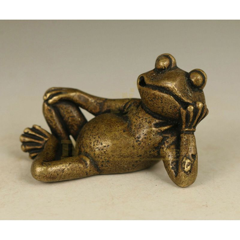 Outdoor Decor Popular Cast Brass Dog Sculpture