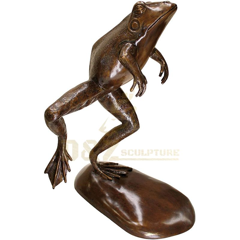 Bronze Frog Sculpture For Decoration