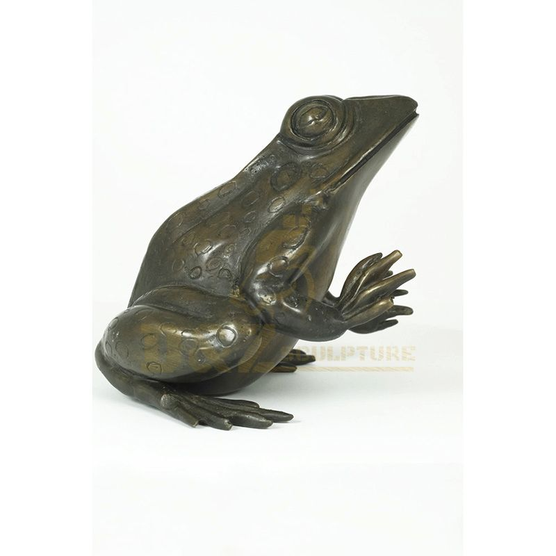 Hot Selling Metal Bronze Frogs Sculpture For Garden Park Decoration