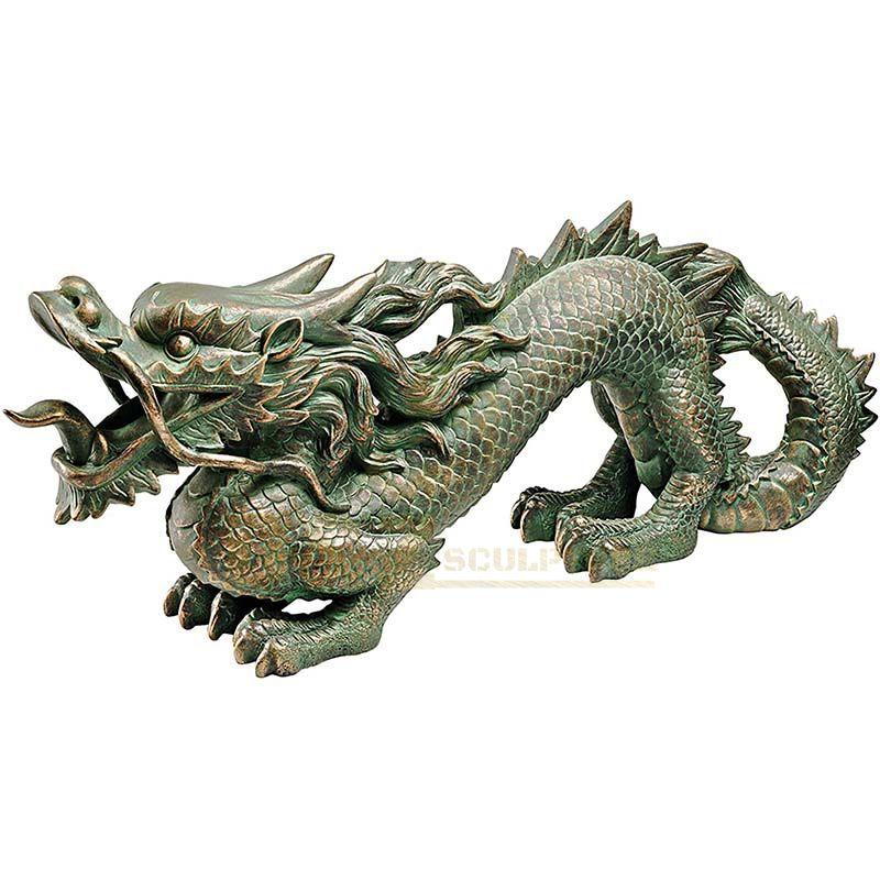 Custom Bronze Garden Dragon Sculpture