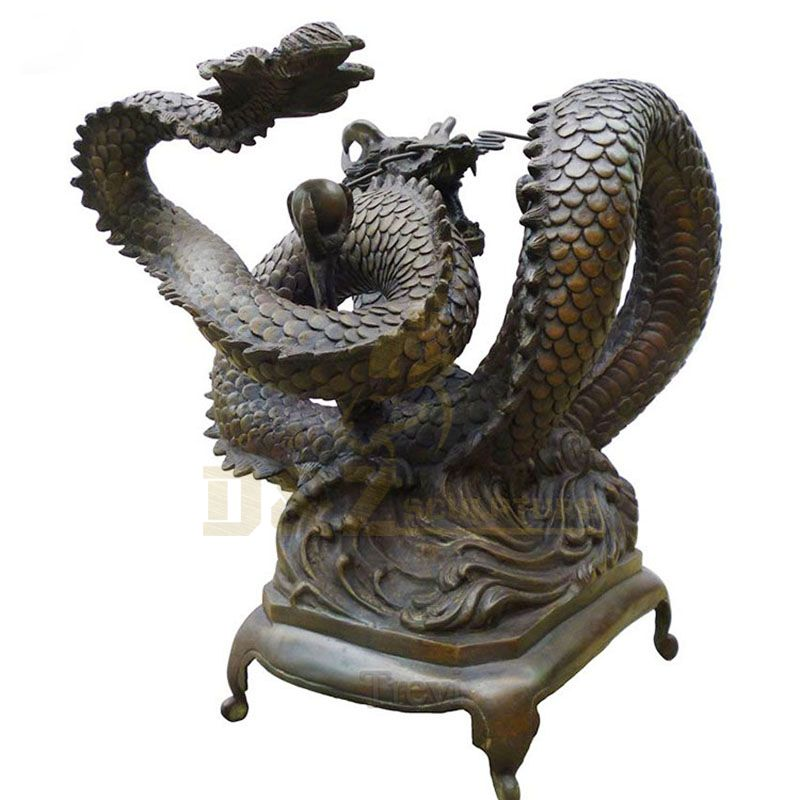 Best sale Factory Sculpture Outdoor Garden Bronze Dragon Sculpture