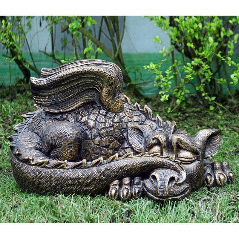 antique-bronze-metal-dragon-sculpture