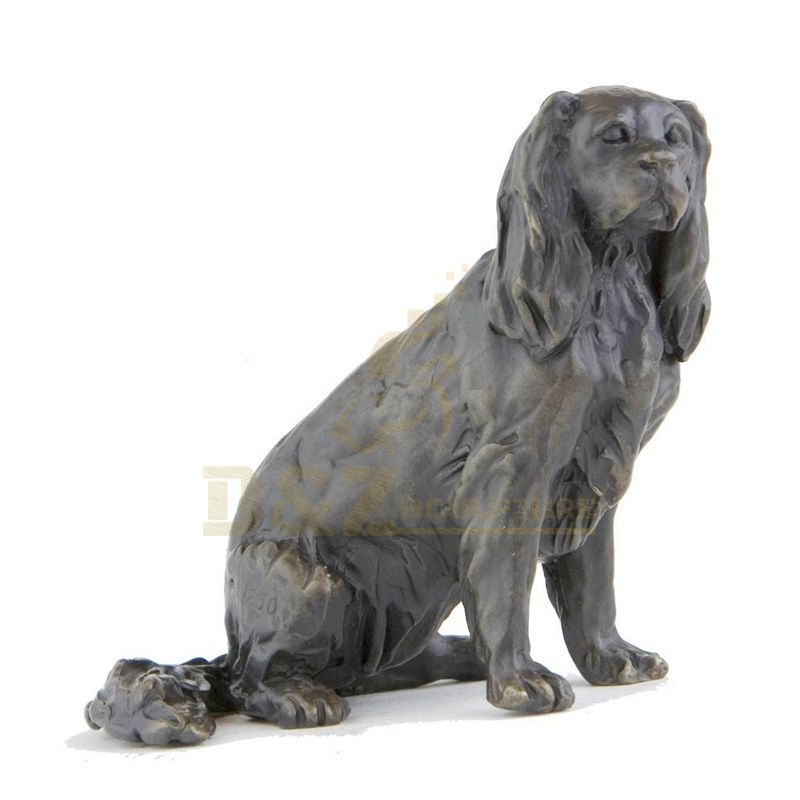 Factory Directly Sell Cast Garden Aniaml Bronze Dog Sculptures