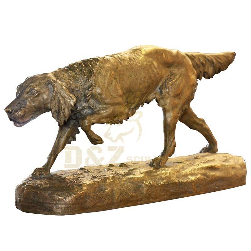 Bronze Decor Garden Sculpture Bronze Dog For Sale