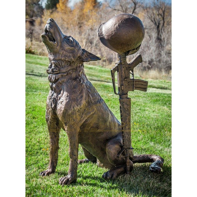 Home Decoration Metal Brass Dog Sculpture For Sale