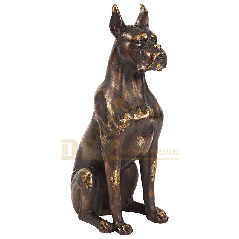 Famous Casting Life Size Bronze Dog Sculpture