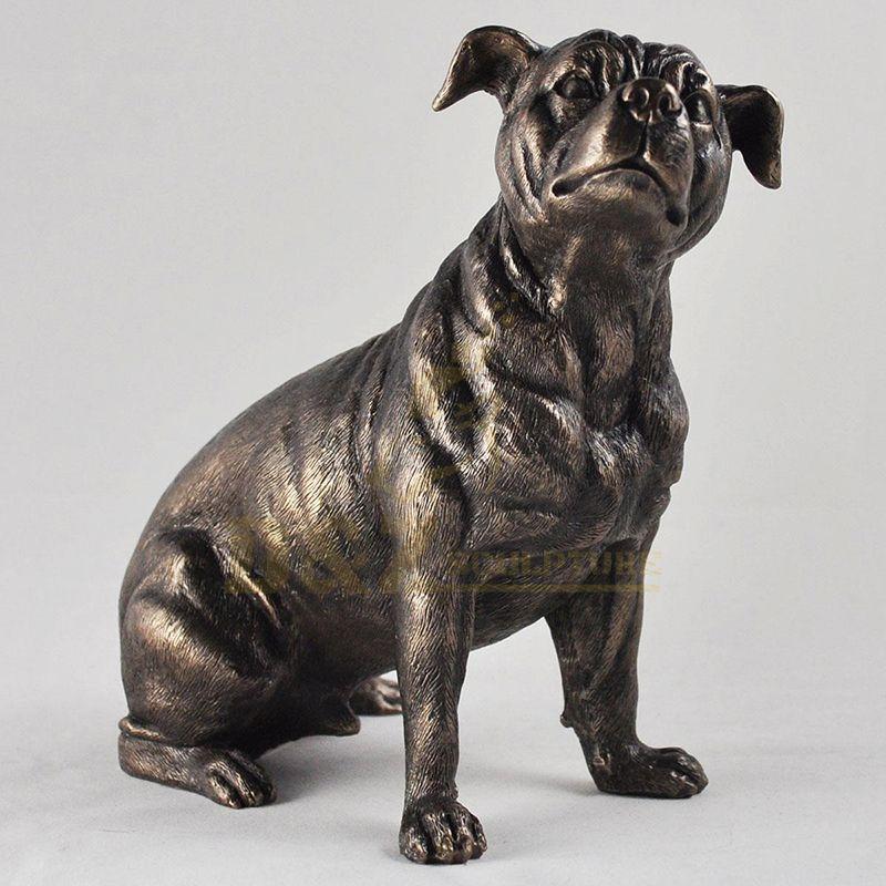Home Decor Bronze Dog Statues For Sale