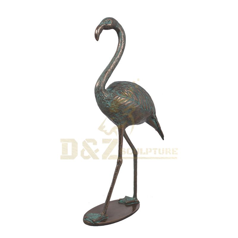 Customized Factory Price Copper Cranes Bronze Sculpture
