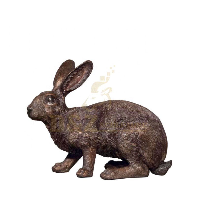 Factory Price Modern Outdoor Metal Bronze Rabbit Statue