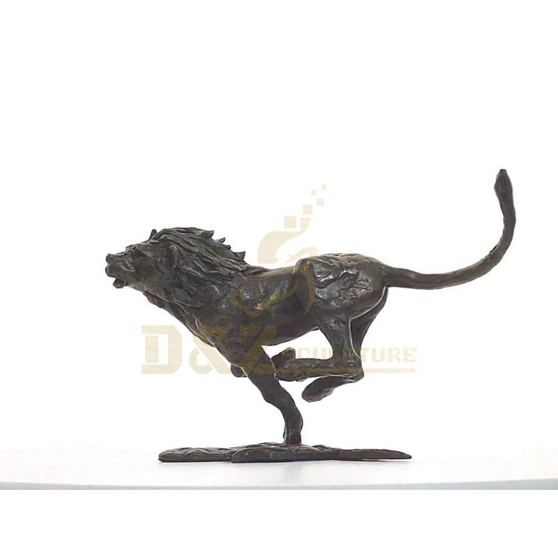 High Quality Customized Outdoor Large Metal Bronze Tiger Sculpture