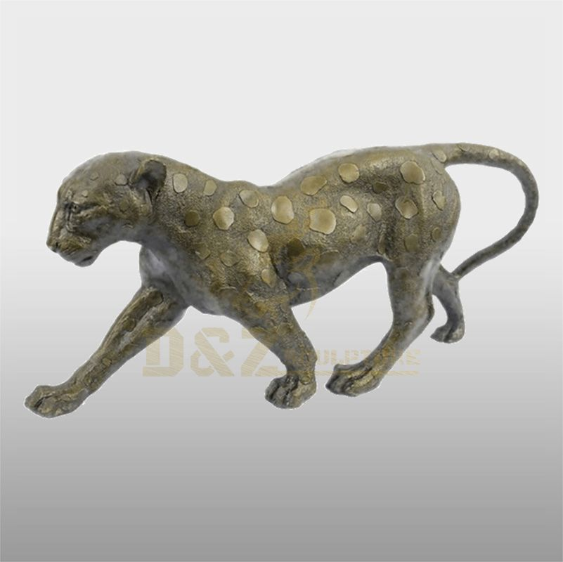 Outdoor Bronze Leopards Sculpture For Decoration