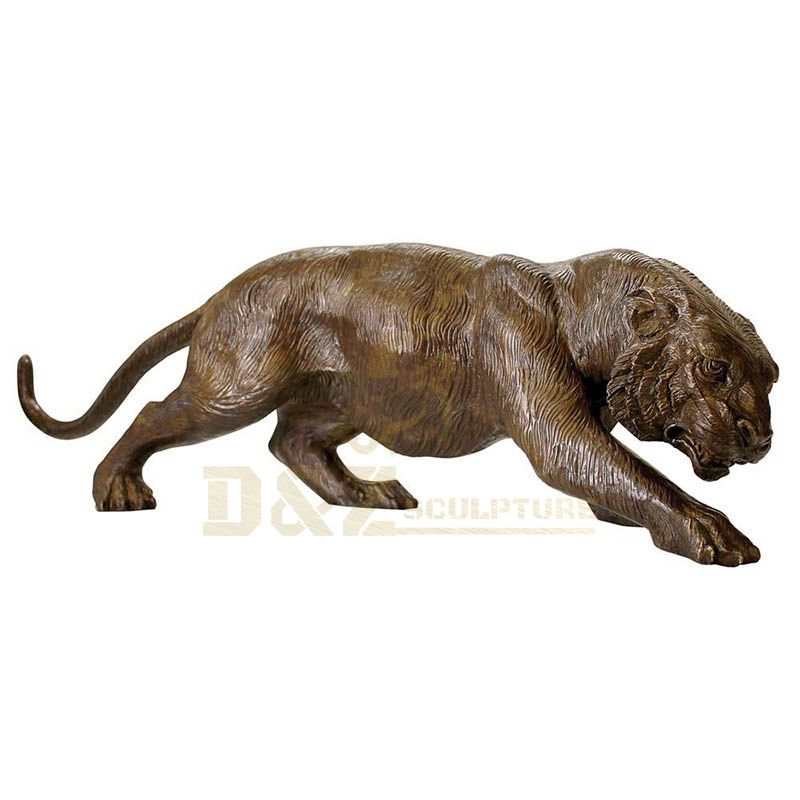 High Quality Decoration Brass Tiger Statue