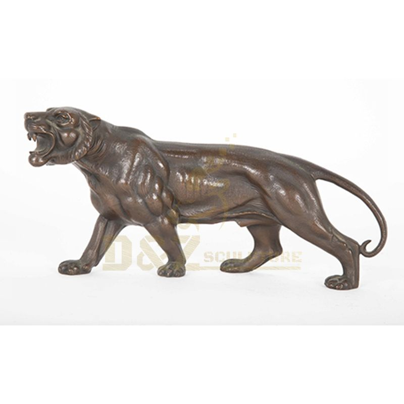 High Quality Home And Garden Decoration Professional Bronze Tiger Sculpture For Sale