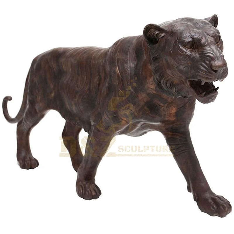 Tiger Sculpture Life Size Bronze Tiger Statue