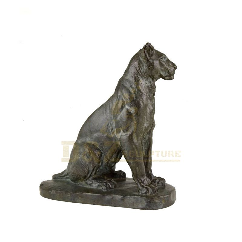 Chinese outdoor sculpture large bronze tiger statue