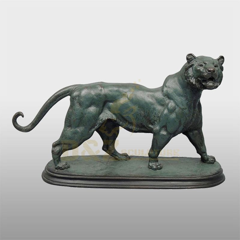 Hot Selling Metal Craft Cheap Bronze Tiger Outdoor Statue
